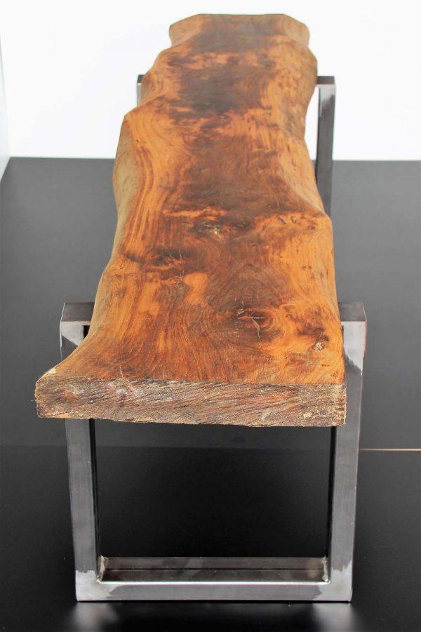 Banco de madera de roble